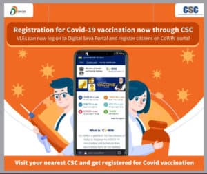 Registration for COVID-19 Vaccination now through CSC