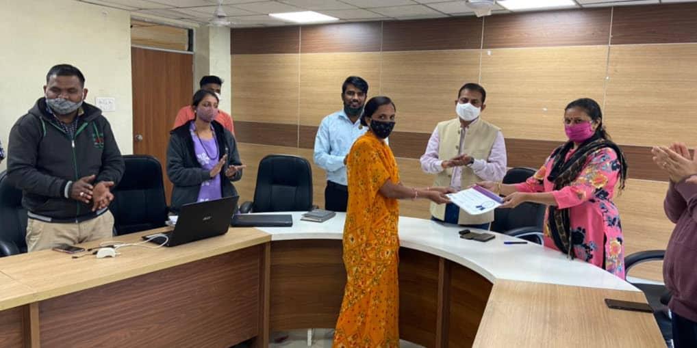 shg sakhi certificate